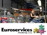 Sortowanie odzieży używanej fizyczna praca Holandia, Wormerveer 2017