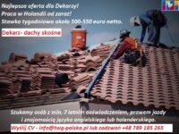 Oferta pracy w Holandii na budowie jako dekarz – dachy skośne, Nijmegen