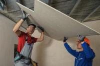 Monter płyt GK praca w Holandii na budowie przy regipsach, Groesbeek
