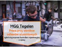 Oferta pracy w Holandii jako operator odlewni MGG od zaraz w Venlo